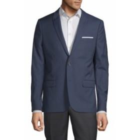 ザ クープルズ Men Clothing Textured Wool Suit Jacket