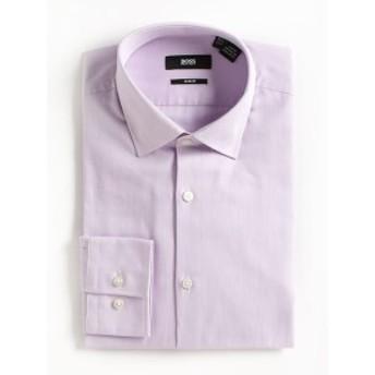 ヒューゴボス Men Clothing Slim-Fit Cotton Dress Shirt