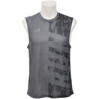 LOTTO(ロット)ランニング メンズ半袖Tシャツ ノースリーブシャツ LO-S19-008-015 メンズ ブラック