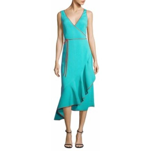 ダイアンフォンファステンバーグ レディース ワンピース Asymmetrical Ruffle Hem Dress