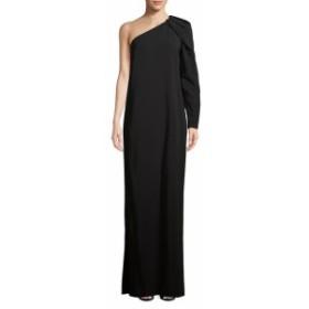ランバン レディース ワンピース One-Shoulder Column Gown