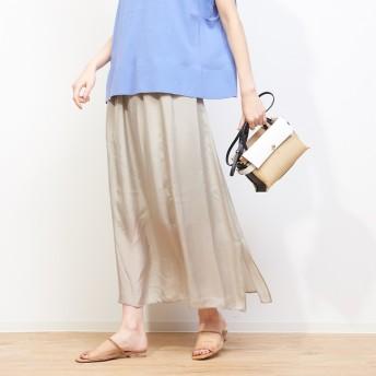 [マルイ]【セール】キュプラギャザースカート/ルージュ・ヴィフ ラクレ(Rouge vif la cle)