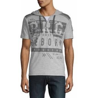 プロジェクト ロウ Men Clothing Graphic Cotton Hoodie