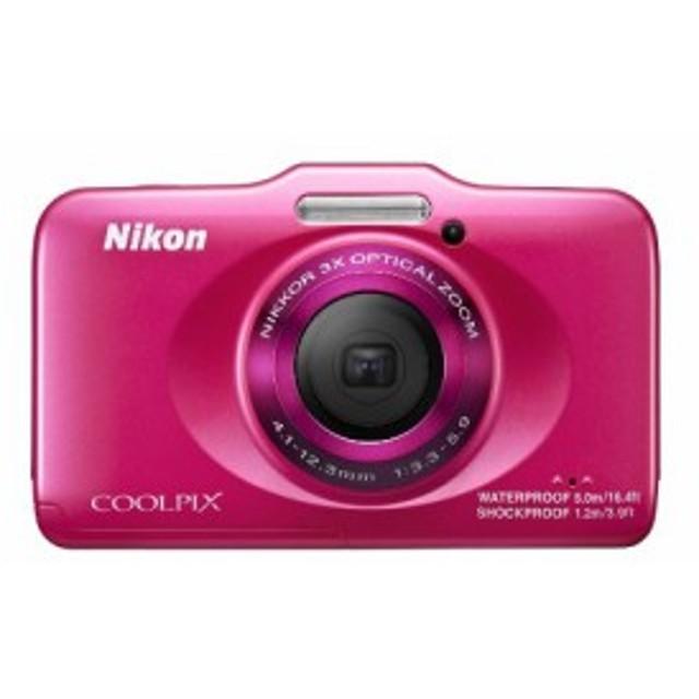 Nikon デジタルカメラ COOLPIX S31 防水5m 耐衝撃1.2m ピンク S31PK(中古品)