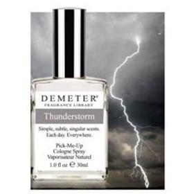ディメーター サンダーストーム オーデコロン スプレータイプ 30ml DEMETER 香水 THUNDERSTORM PICK ME UP COLOGNE
