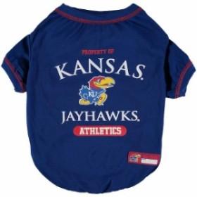 Pets First ペット ファースト スポーツ用品  Kansas Jayhawks Pet T-Shirt