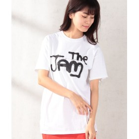 And A The JAM /ザ・ジャム ロゴ 半袖プリントTシャツ THE TEE/ザ・ティー ユニセックス ホワイト S 【And A】