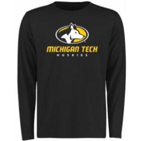 Fanatics Branded ファナティクス ブランド スポーツ用品  Michigan Tech Huskies Black Big & Tall Classic Primary L