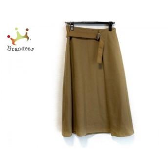 ミラオーウェン Mila Owen スカート サイズ0 XS レディース ライトブラウン スペシャル特価 20190820