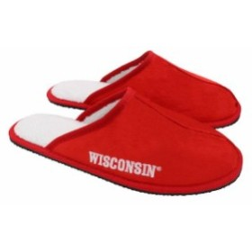 Forever Collectibles フォーエバー コレクティブル スポーツ用品  Wisconsin Badgers Wordmark Open Back Moccasin