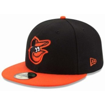 New Era ニュー エラ スポーツ用品 New Era Baltimore Orioles Black/Orange Road Authentic Collection On-Field 59FIFTY F