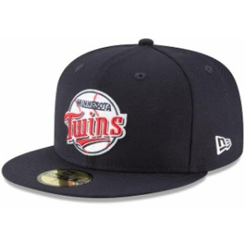 New Era ニュー エラ スポーツ用品 New Era Minnesota Twins Navy Cooperstown Collection Wool 59FIFTY Fitted Hat