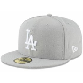 New Era ニュー エラ スポーツ用品  New Era Los Angeles Dodgers Gray Fashion Color Basic 59FIFTY Fitted Hat