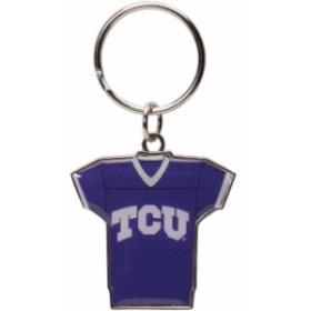 Aminco アミンコ スポーツ用品  TCU Horned Frogs Reversible Home/Away Jersey Keychain
