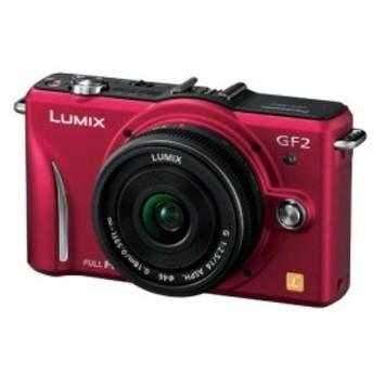 パナソニック ミラーレス一眼カメラ GF2 レンズキット(14mm/F2.5パンケーキ(中古品)
