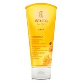 ヴェレダ カレンドラ ベビーウォッシュ&シャンプー 200ml WELEDA 化粧品 CALENDULA SHAMPOO & BODY WASH