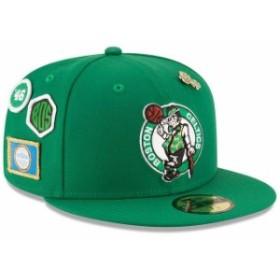 New Era ニュー エラ スポーツ用品  New Era Boston Celtics Youth Kelly Green 2018 Draft 59FIFTY Fitted Hat