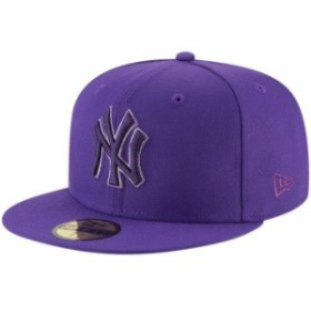 New Era ニュー エラ スポーツ用品  New Era New York Yankees Purple 59FIFTY League Pop Fitted Hat