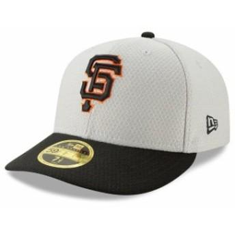 New Era ニュー エラ 服 New Era San Francisco Giants Gray/Black 2019 Batting Practice Road Low Profile 59FIFTY Fitted Hat