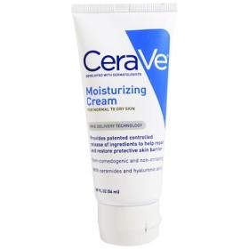 モイスチャライジングクリーム、普通から乾燥肌用、1.89液量オンス (56 ml)