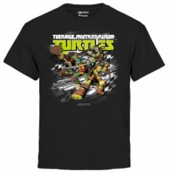 Fanatics Branded ファナティクス ブランド スポーツ用品 Fanatics Branded Chicagoland Speedway Youth Black TMNT T
