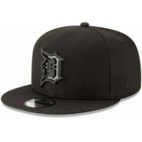 New Era ニュー エラ スポーツ用品  New Era Detroit Tigers Black Metal Stack 9FIFTY Adjustable Hat