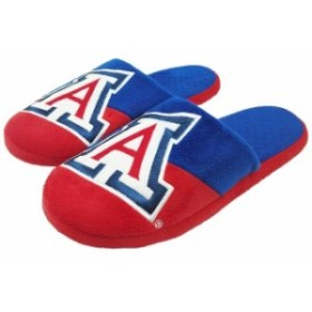 Forever Collectibles フォーエバー コレクティブル スポーツ用品  Arizona Wildcats Colorblock Slide Slippers