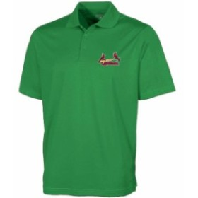 Antigua アンティグア シャツ ポロシャツ Antigua St. Louis Cardinals Green Desert Dry Xtra-Lite Polo