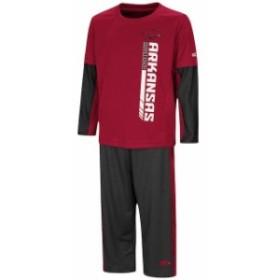 Colosseum コロセウム スポーツ用品  Colosseum Arkansas Razorbacks Toddler Cardinal/White We Got Us Long Sleeve T-Shirt