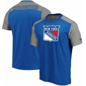 Fanatics Branded ファナティクス ブランド スポーツ用品  Fanatics Branded New York Rangers Blue/Heathered Gray Ic