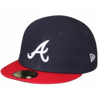 New Era ニュー エラ スポーツ用品 New Era Atlanta Braves Infant Navy Authentic Collection On-Field My First 59FIFTY F
