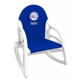 Chad & Jake チャド アンド ジェイク スポーツ用品  Royal Philadelphia 76ers Childrens Personalized Rocking Chair