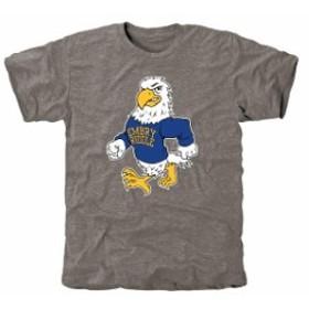 Fanatics Branded ファナティクス ブランド スポーツ用品  Embry-Riddle Eagles Gray Auxiliary Logo Tri-Blend T-Shir