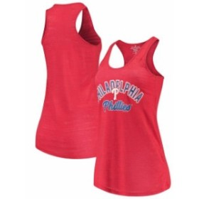 Soft as a Grape ソフト アズ ア グレープ スポーツ用品  Soft as a Grape Philadelphia Phillies Womens Red Multicoun