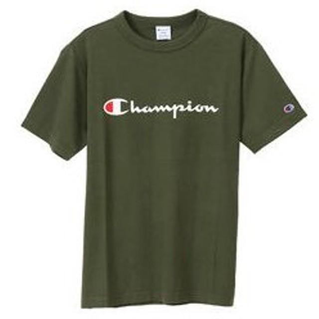 Champion/チャンピオン  Tシャツ Lサイズ ダークグリーン C3P302-570