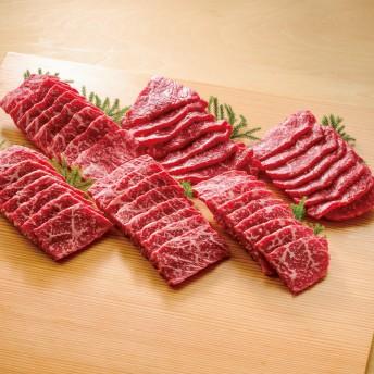 ブランド和牛6種 食べ比べ焼肉セット (6種計600g)