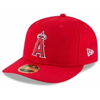 New Era ニュー エラ スポーツ用品 New Era Los Angeles Angels Red Fan Retro Low Profile 59FIFTY Fitted Hat