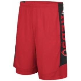 Majestic マジェスティック スポーツ用品  Majestic Cincinnati Reds Red Defiant Performance Shorts