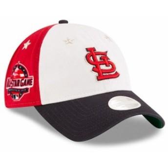 New Era ニュー エラ スポーツ用品 New Era St. Louis Cardinals Womens White/Navy 2018 MLB All-Star Game 9TWENTY Adjust