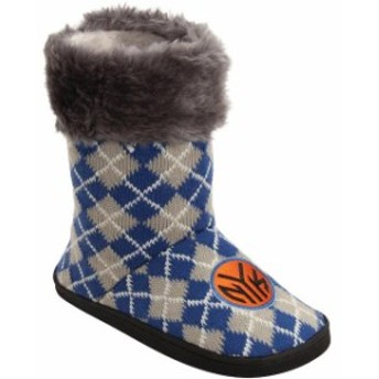 Forever Collectibles フォーエバー コレクティブル スポーツ用品 New York Knicks Womens Argyle Fur Boot