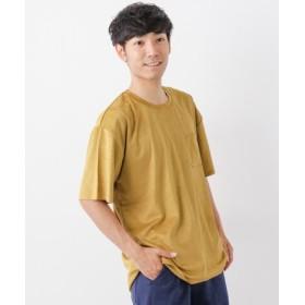 ITEMS(アイテムズ) トップス Tシャツ・カットソー フェイクスエードTシャツ