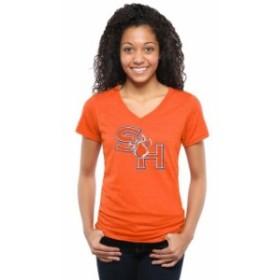 Fanatics Branded ファナティクス ブランド スポーツ用品  Sam Houston State Bearkats Womens Classic Primary Tri-Bl