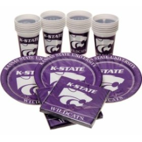 Westrick Paper Company ウエストリック ペーパー カンパニー スポーツ用品  Kansas State Wildcats Party Pack f