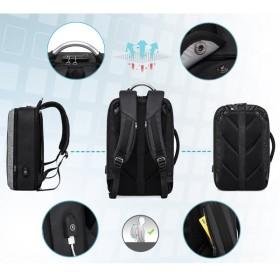 アリアルク リュック リュックサック バックパック ビジネスリュック メンズ PCバッグ ラップトップ 15.6インチ USB充電ポート (