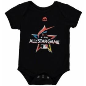 Majestic マジェスティック スポーツ用品  Majestic MLB Infant Black 2017 All-Star Game Official Logo Bodysuit