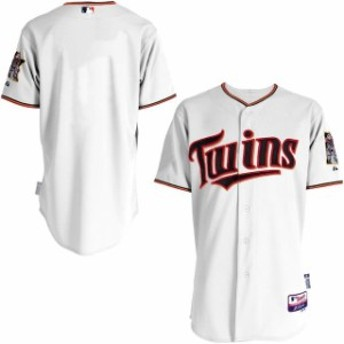 Majestic マジェスティック スポーツ用品  Majestic Minnesota Twins White Team Authentic Jersey
