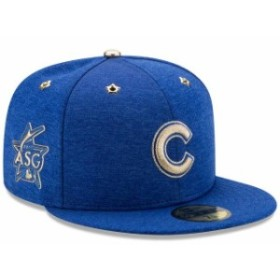 New Era ニュー エラ スポーツ用品  New Era Chicago Cubs Heathered Royal 2017 MLB All-Star Game Side Patch 59FIFTY Fitt