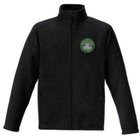 Titania Golf タイタニア ゴルフ スポーツ用品  Boston Celtics Womens Black Rhinestone Full-Zip Fleece Jacket