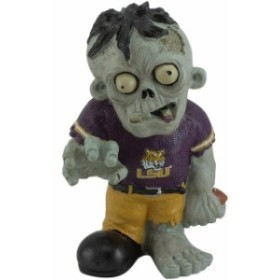 Forever Collectibles フォーエバー コレクティブル スポーツ用品  LSU Tigers Resin Zombie Figurine