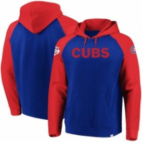 Majestic マジェスティック スポーツ用品  Majestic Chicago Cubs Royal With Attitude Pullover Hoodie